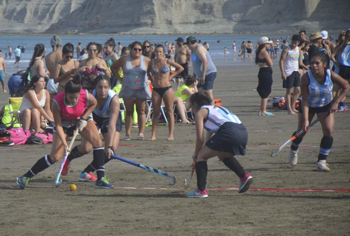 Torneo de Hockey Playa Rada Tilly